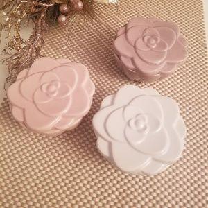 Other - Rose design trinket jewelry box/storage